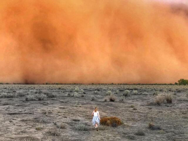 [FOTOS] Nuevos fenómenos se suman a incendios en Australia: tormentas de polvo y granizo