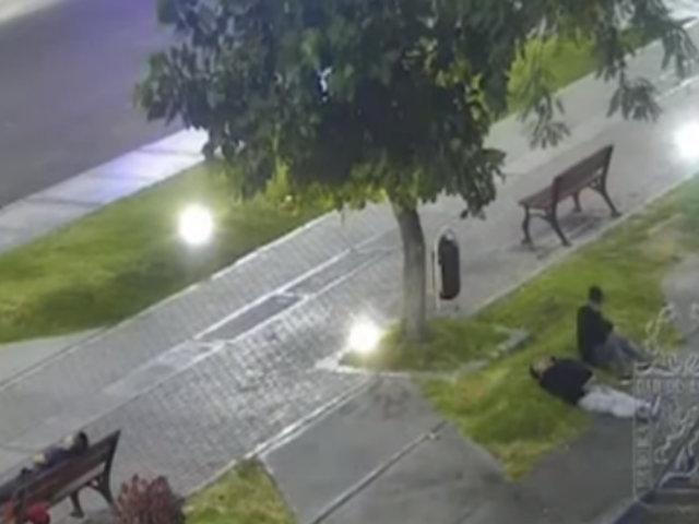 Tacna: asaltan a hombre que fue dopado y abandonado en parque