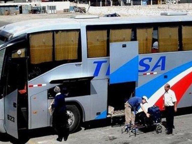Delincuentes armados asaltaron a pasajeros de la empresa Tepsa durante viaje a Lima
