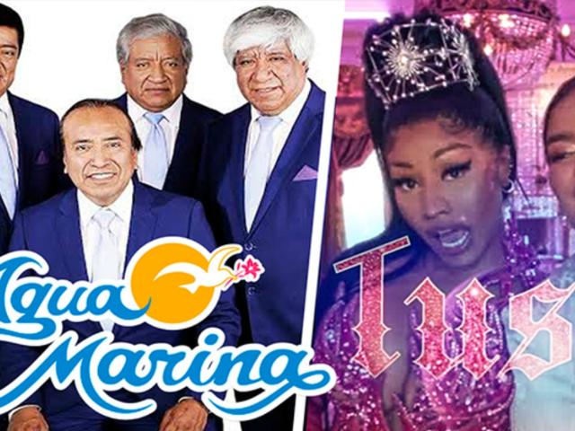 Facebook: mezclaron 'Tusa' y 'Amor sincero' de Agua Marina y la fiesta estalló