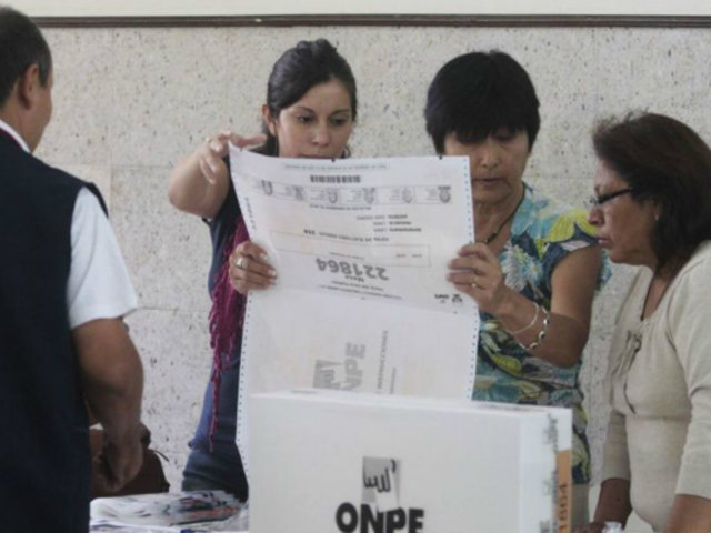 Elecciones 2021: miembros de mesa serán elegidos por sorteo el próximo 31 de enero