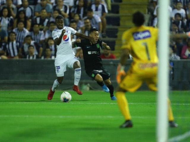 Noche Blanquiazul: Alianza Lima cayó 2-1 ante Millonarios de Colombia