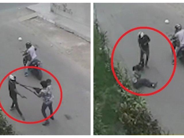 SMP: ladrón dispara a hombre con su bebé en brazos para robarle