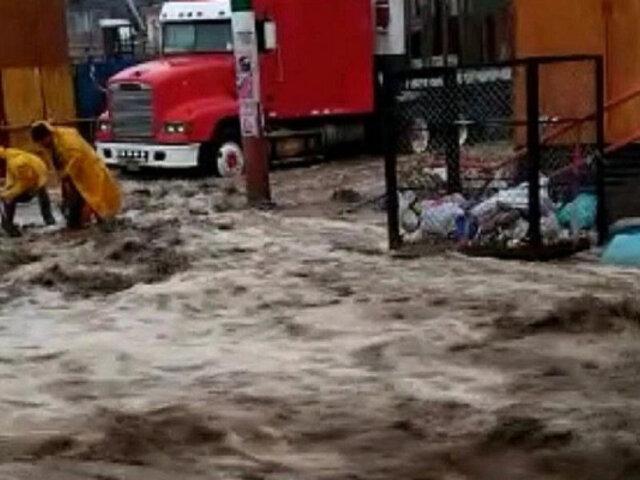 Más de 60 distritos de Arequipa, Moquegua, Tacna y Puno en emergencia por lluvias