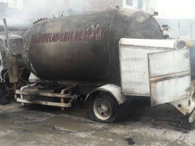 [VIDEO] Villa El Salvador: tres muertos y 47 heridos tras deflagración de combustible de cisterna