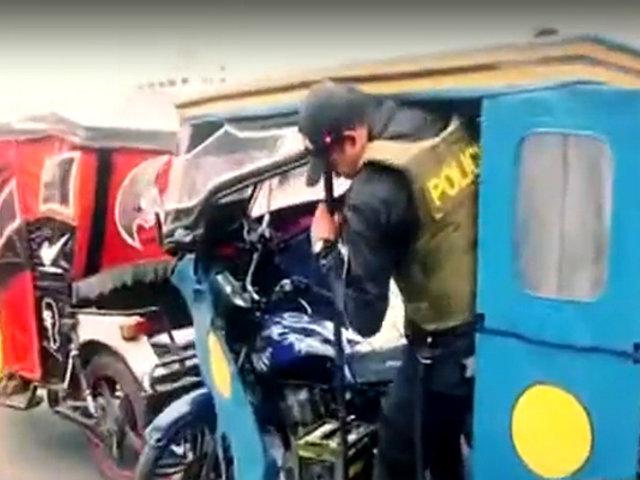 El Agustino: así se llevó a cabo operativo a mototaxistas informales