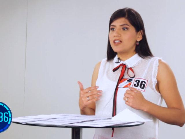 """Francis Gutiérrez sobre bicameralidad: """"Que haya un referéndum y el pueblo decida"""""""