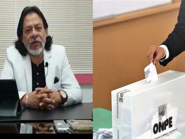César Gutiérrez analiza las elecciones del próximo domingo 26 de enero