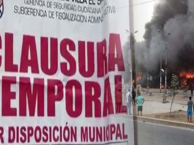 Clausuran empresa del camión cisterna que explotó en VES