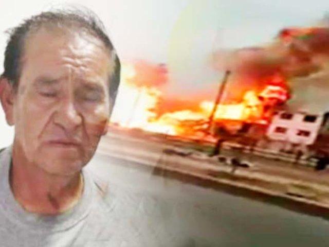 Villa El Salvador: conductor del camión cisterna se entregó a las autoridades