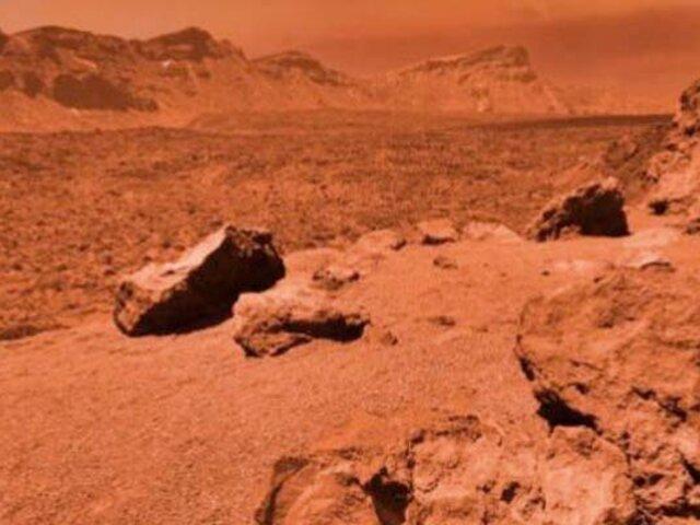 NASA: agua de Marte era salada y rica en minerales