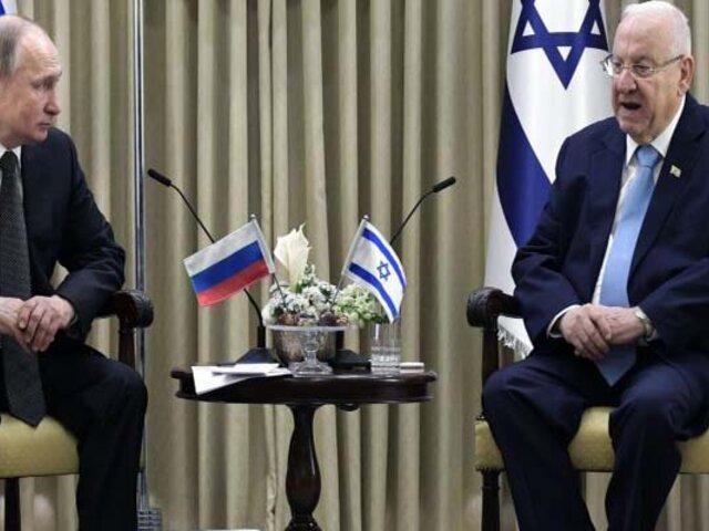 Vladímir Putin calificó el Holocausto como una tragedia común de Israel y Rusia