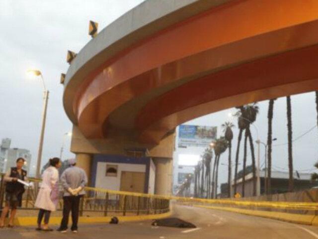 Surco: pedirán imágenes de cámaras para esclarecer accidente en puente El Derby