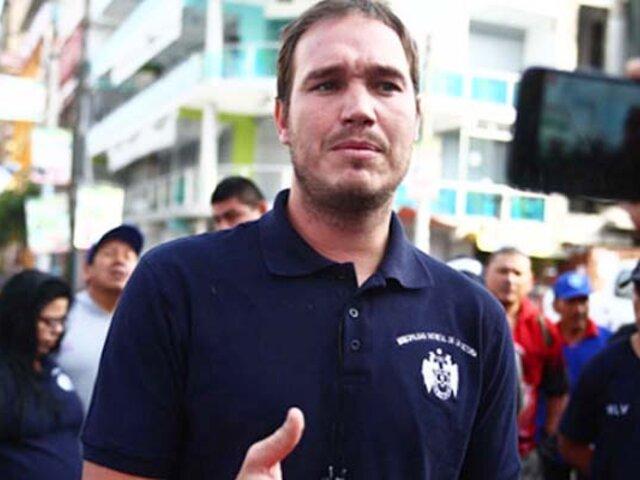 """Forsyth denuncia indignado """"mafias de venezolanos"""" en La Victoria"""