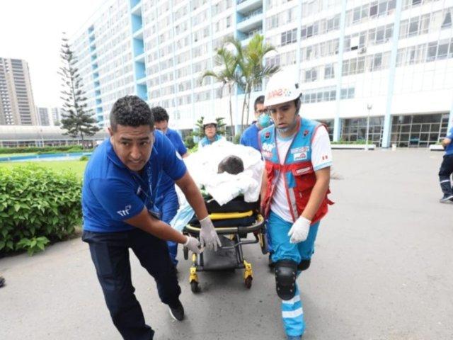 Tragedia en Villa El Salvador: esta es la lista de heridos y los hospitales donde son atendidos
