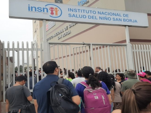Tragedia en Villa El Salvador: cientos de personas acudieron a donar sangre al INSN