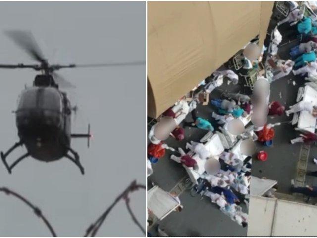Tragedia en Villa El Salvador: heridos fueron trasladados vía aérea a hospitales