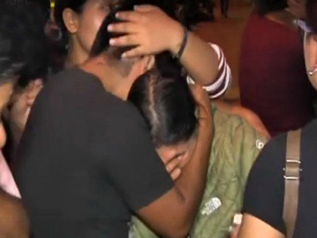 Tragedia en VES: familiares de víctimas llegan a la morgue de Lima