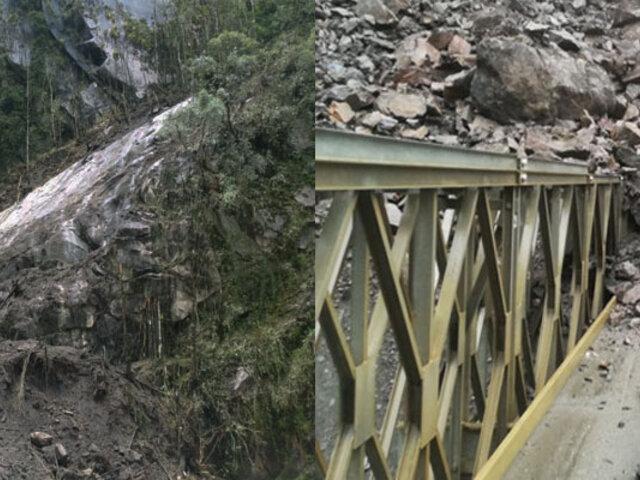Deslizamientos en Machu Picchu: cierran temporalmente Red de Caminos Inca