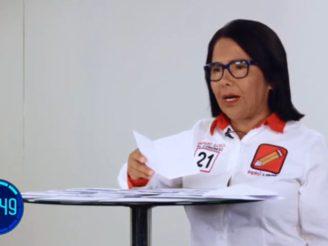 """Amparo García: """"Somos un país de informales por las trabas burocráticas"""""""