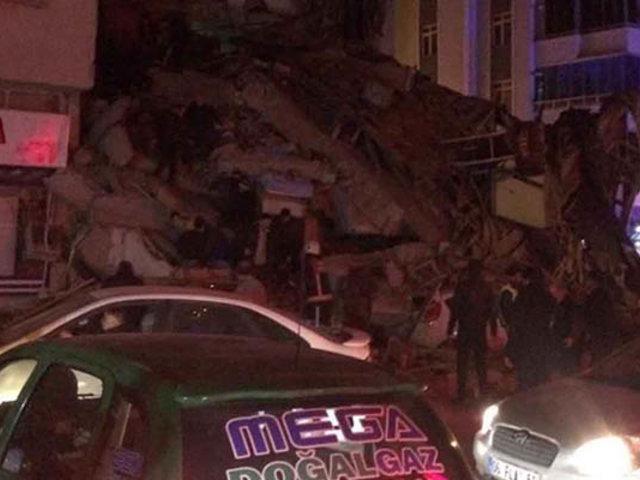 VIDEO: fuerte sismo de 6.7 grados de magnitud remeció Turquía