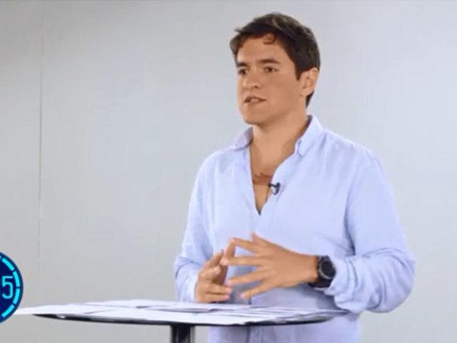 """Luis Bringas: """"Es necesario que la política económica cambie en función a la ecología"""""""