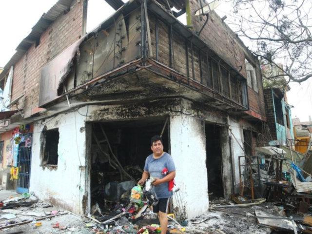 VES: aseguran que rehabilitarán viviendas dañadas por explosión