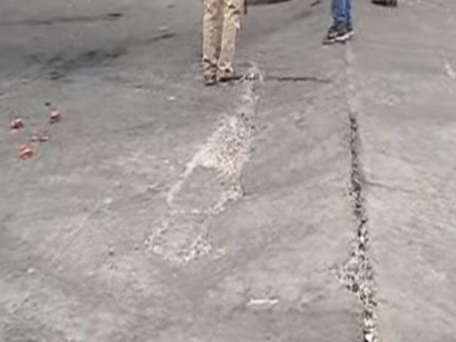 VES: vía donde explotó cisterna fue remodelada varias veces