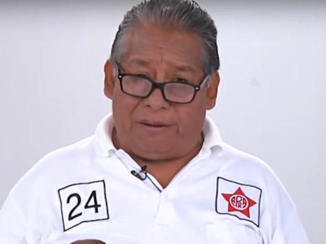"""Óscar Fernández: """"todos los partidos deberían informar los aportes antes de la campaña"""""""