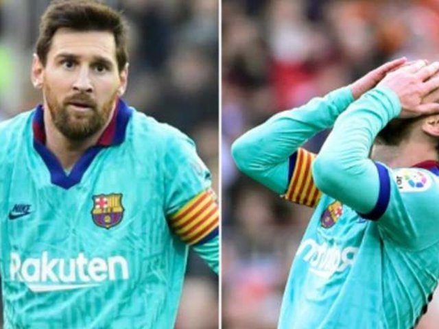 El Barcelona cayó ante el Valencia en La Liga española