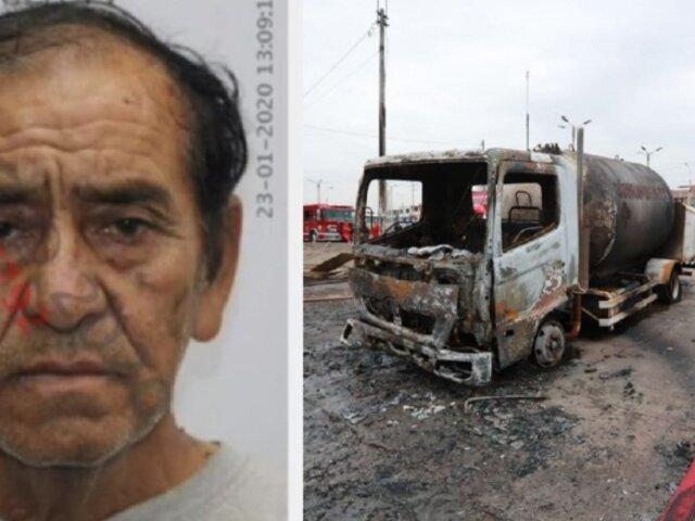 Incendio en VES: Fiscalía pide 9 meses de prisión preventiva contra chofer de camión cisterna