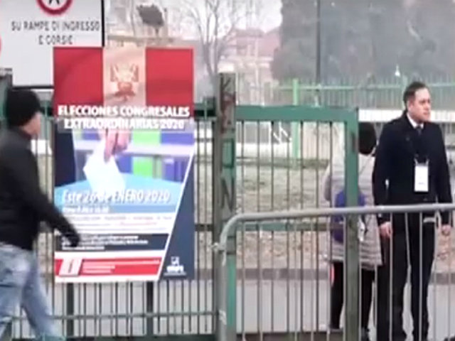 Voto Responsable | peruanos en Italia inician jornada electoral