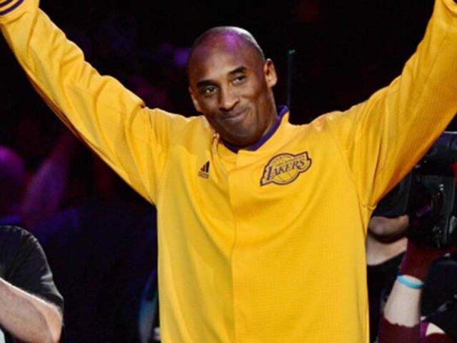 EEUU: estrella del baloncesto Kobe Bryant muere en accidente de helicóptero