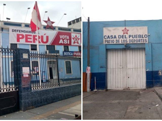 Elecciones 2020: Local del Apra permanece cerrado tras conocerse resultados a boca de urna