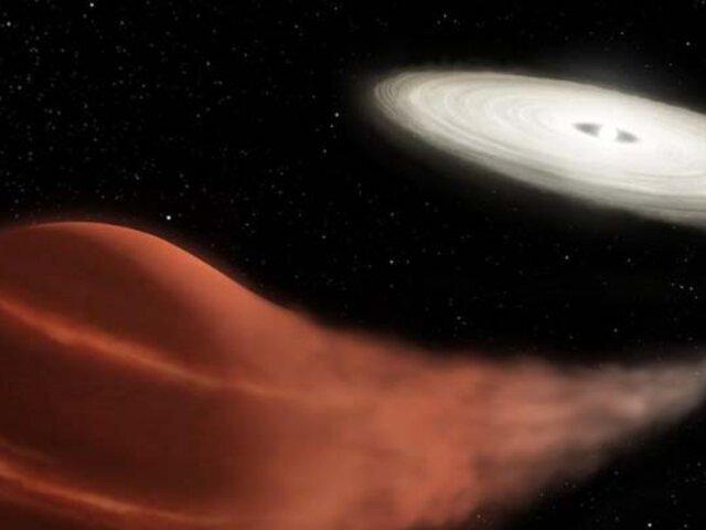 """NASA descubre una estrella """"vampiro"""" que está absorbiendo a su compañera"""