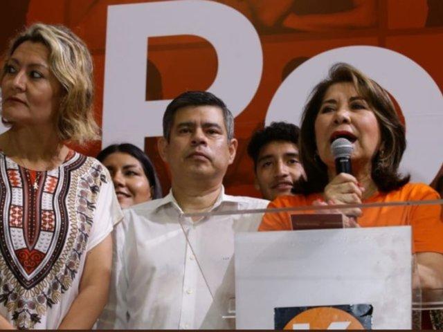 """Martha Chávez tras boca de urna: """"sabemos que hay voto escondido fujimorista"""""""