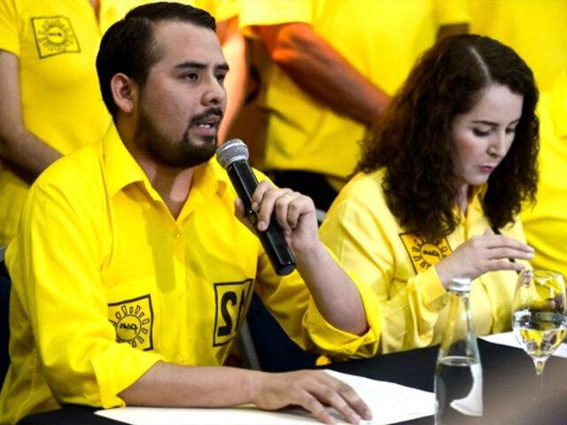 """Solidaridad Nacional: """"Esperamos el conteo de la ONPE, el flash electoral no es confiable"""""""
