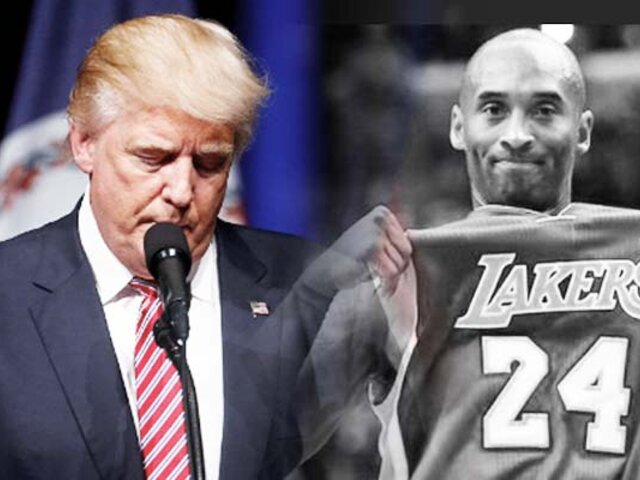 "Donald Trump: ""la muerte de Kobe Bryant es una terrible noticia"""