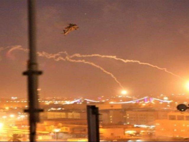 Irak: cinco cohetes caen cerca de embajada de EEUU y dejan un herido