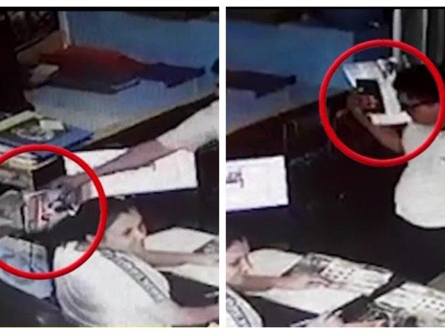 SJM: distraen a trabajadora de escuela de manejo para robar su celular