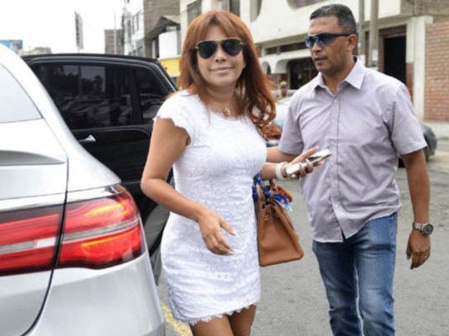 Magaly Medina denuncia en comisaría supuesto reglaje a su vivienda