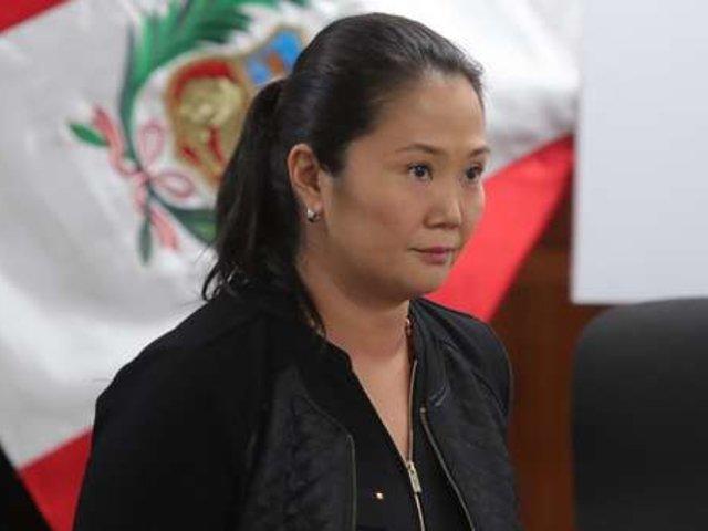 """Keiko Fujimori sobre audiencia de prisión preventiva: """"Cumpliré con lo que corresponda"""""""