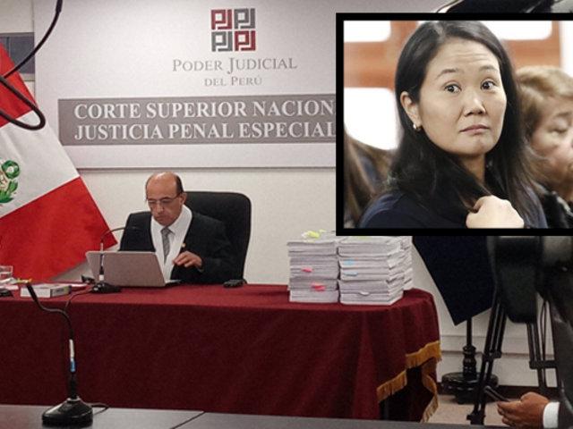 Keiko Fujimori vuelve a ser encarcelada: juez determinó 15 meses de prisión preventiva