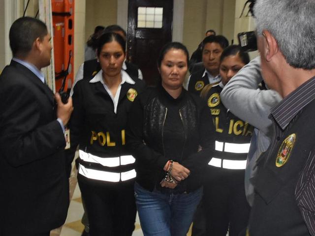Keiko Fujimori fue internada en el penal Anexo de Chorrillos