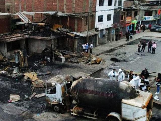Tragedia en Villa El Salvador: Gobierno declara distrito en estado de emergencia