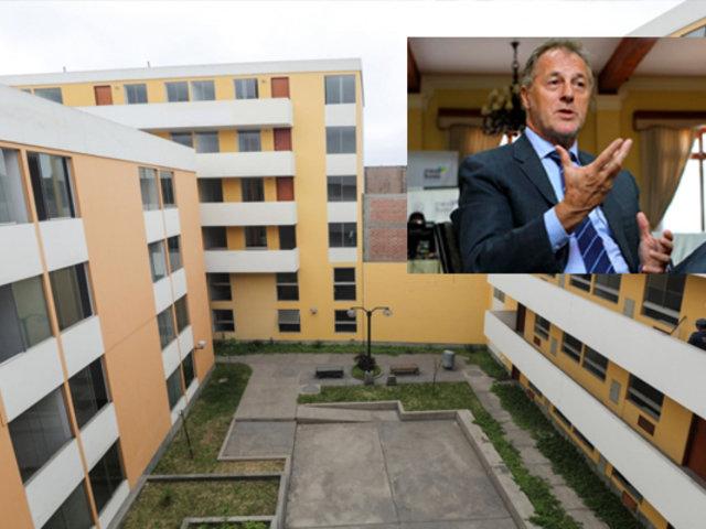 Familias damnificadas de VES serían reubicadas en departamentos de Municipalidad de Lima