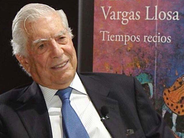 """Mario Vargas Llosa obtiene el premio """"Francisco Umbral"""""""