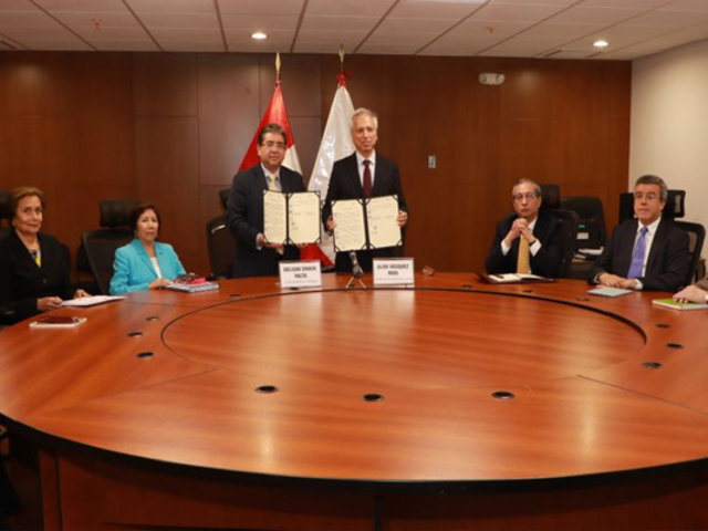 JNJ y Contraloría suscriben acuerdo para intercambiar información