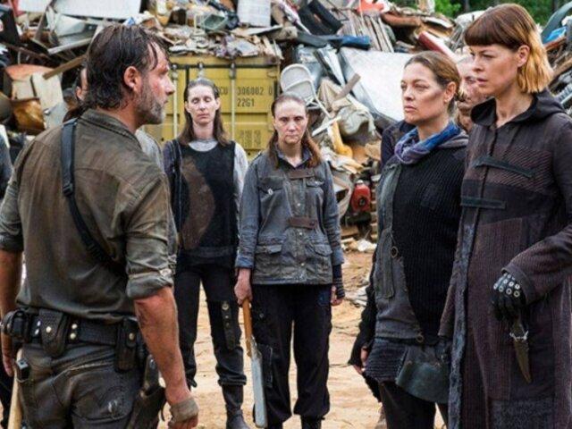 Actriz de The Walking Dead forma parte de película peruana ''La cosa''