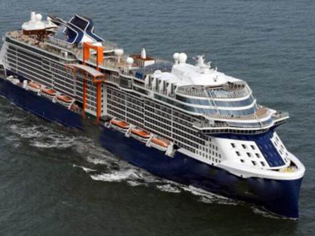 Italia: pasajeros de crucero en cuarentena por posible caso de coronavirus